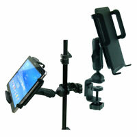 Large Heavy Duty C-Clamp Music Stand / Desk Mount for Galaxy Tab Pro (10.1)