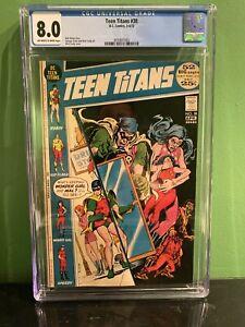 Teen Titans #38 CGC 8.0 Ow/w 1972