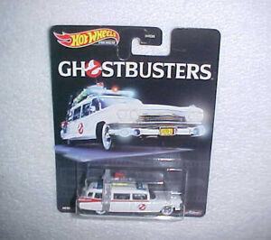 """HW """"GHOSTBUSTERS"""" VHTF PREMIUM HOTWHEELS DIE CAST CAR w/REAL RIDERS"""