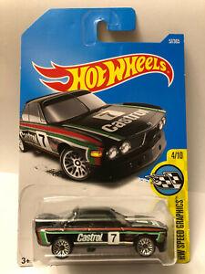 HOT WHEELS BLACK 1973 '73 BMW 3.0 CSL RACE CAR HW SPEED GRAPHICS 4/10 57/365