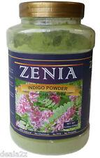 150g Jar Zenia Pure Indigo Powder Natural hair Dye Bottle Indigofera Tinctoria