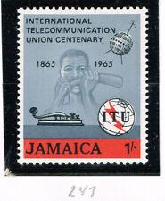 Jamaica Space Communication Satellite stamp 1965 MLH