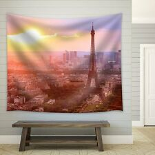 wall26 - Eiffel Tower in Paris - Fabric Tapestry, Home Decor - 88x104 inches