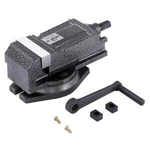 4021543 80MM Precision Swivel Rotating Base Machine Bench Lathe Milling Vice