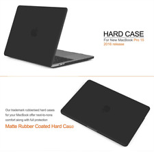 Release MacBook Pro 15 Inch Model 2017 & 2016 A1707 Protective Hard Case Soft
