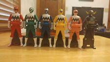Seijuu Sentai GINGAMAN RANGER KEYS SET Power Rangers Lost Galaxy Gokaiger