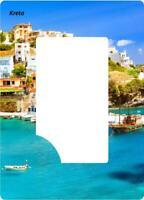 Kreta Greece Magnet Picture Frame 18 CM Photo Epoxy Souvenir