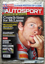 July Autosport Weekly Sports Magazines