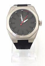 Puma Herren Uhr Octa schwarz silber Silikon Achteck PU104051001