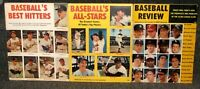1957-1959 BASEBALL'S BEST HITTERS BASEBALL'S ALL-STARS & BASEBALL REVIEW 3 MAGS