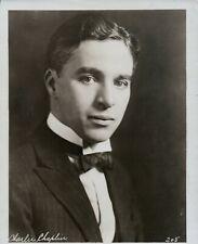"Charlie Chaplin Original 1927 Photo 8"" x 10"""