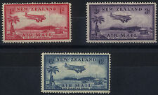 Mint Hinged Multiple New Zealand Stamps