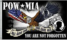 POW MIA MILITARY: DEFENDER 3X5' FLAG  2 Metal Grommets New Indoors or Outdoors