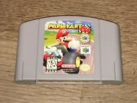 Mario Kart 64 Nintendo 64 N64 Cleaned & Tested Authentic