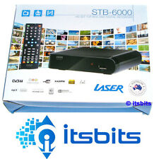LASER STB-6000 HD DIGITAL RECORDER AND SET TOP BOX HDMI & COMPOSITE + REMOTE