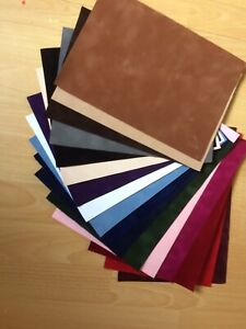 A4 flock  velvet paper, commercial quality, tactile, cards, scrapbooks, boxes