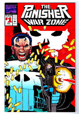 THE PUNISHER WAR ZONE #1 in NM condition a 1992 MARVEL comic BRAND NEW
