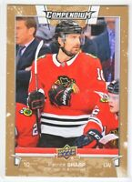 2017-18 Upper Deck Compendium GOLD Patrick Sharp  #651