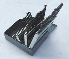 50 PIECE METRIC DRILL BIT SET HIGH SPEED STEEL 1 - 5.9mm BY .1mm INCREMENTS