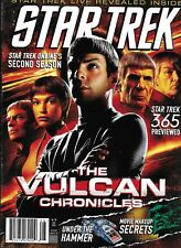 Star Trek Magazine Vulcan Chronicles Spock Movie Makeup Secrets Barney Burman