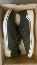 Mismatched Merrell Primer Black Leather Men's Low Top Shoes