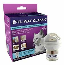 Feliway Classic Diffuser for Cats, 30 Day Starter Kit