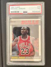 1987 Fleer #59 Michael Jordan PSA 7