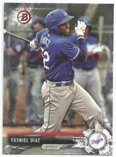 Yusniel Diaz Baltimore Orioles 2017 Bowman Draft Baseball