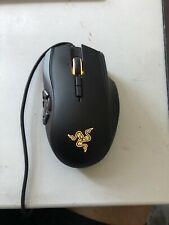 Razer Naga Hex V2 Wired Laser Mouse. Great Condition Model RZ01-0160. Tested