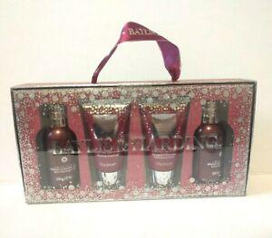 Baylis & Harding New Midnight Fig & Pomegranate Gift Bath Set Body Wash Lotion