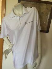 Adidas Golf Poloshirt Climacool Mercedes Benz Neu! Gr. M Weiß