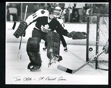 Jiri Crha LOT of 4 Press Photos 1980 Goaltender Toronto Maple Leafs Goalie