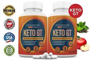 Keto GT Keto Pills Weight Loss Diet goBHB Ketogenic Supplement Men Women 2 Pack