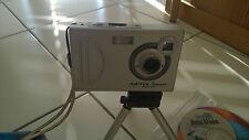 AIPTEK Pocketcam 2,1 Mega mit USB Kabel Software CD's, Anleitung u. neuer Kordel