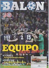 Orig.PRG  Champions League  2015/16  ATLETICO MADRID - BAYERN MÜNCHEN 1/2 FINALE