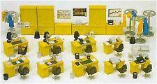 Preiser Models Ho Office Equipment (Desks, Chairs, Cabinets Etc.) (Kit)   17184