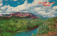 Chrome Postcard A794 Oak Creek Canyon Arizona Sedona AZ Posted 1965 Ariz