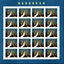 Hanukkah 2020 stamps Scott 5529  Forever Pn-20 MNH