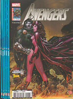 The AVENGERS N° 1 à 6 Marvel France 2ème Série Panini 6 comics COMPLET