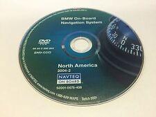 2004 2005 BMW 525i 530i 545i 5-Series On-Board Navigation OEM DVD Map U.S Canada