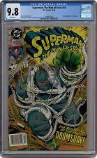 Superman The Man of Steel #18 CGC 9.8 1992 3790972024 1st full app. Doomsday
