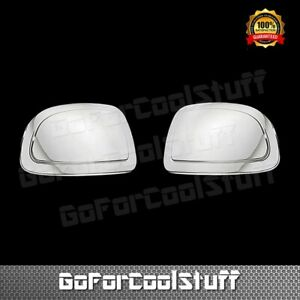 For Chevy Tahoe 2000 2001 02 03 04 05 2006 Chrome Mirror Cap Cover STICK ON OVER