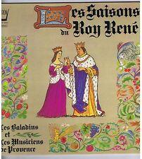 LP LES MUSICIENS DE PROVENCE LES SAISONS DU ROY RENE