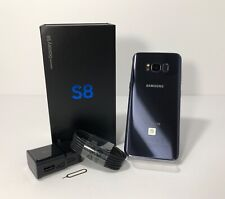 SAMSUNG GALAXY S8 64GB SM-G950U BLACK- GRAY- SILVER UNLOCKED VERIZON AT&T TELCEL