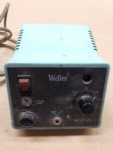 Stazione saldante Weller Wecp20 saldatore soldering station