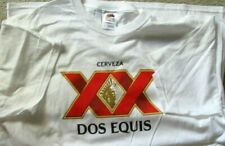Dos Equis T Shirt XX Cervesa Beer Large Fruit of the Loom NEW Large