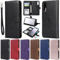 Detachable Wallet Leather Flip Case Cover For Huawei Y6 2018 Honor 7S Honor 7A