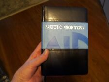 Narcotics Anonymous Collectors NEW EMBOSSED LEATHER LIMITED EDITION BASIC TEXT