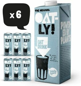 Oatly Enriched Oat Drink 1 Litre (Pack of 6)