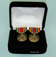 Wwii Victory Medal Cuff Links in Presentation Gift Box Cufflinks Ww2 958